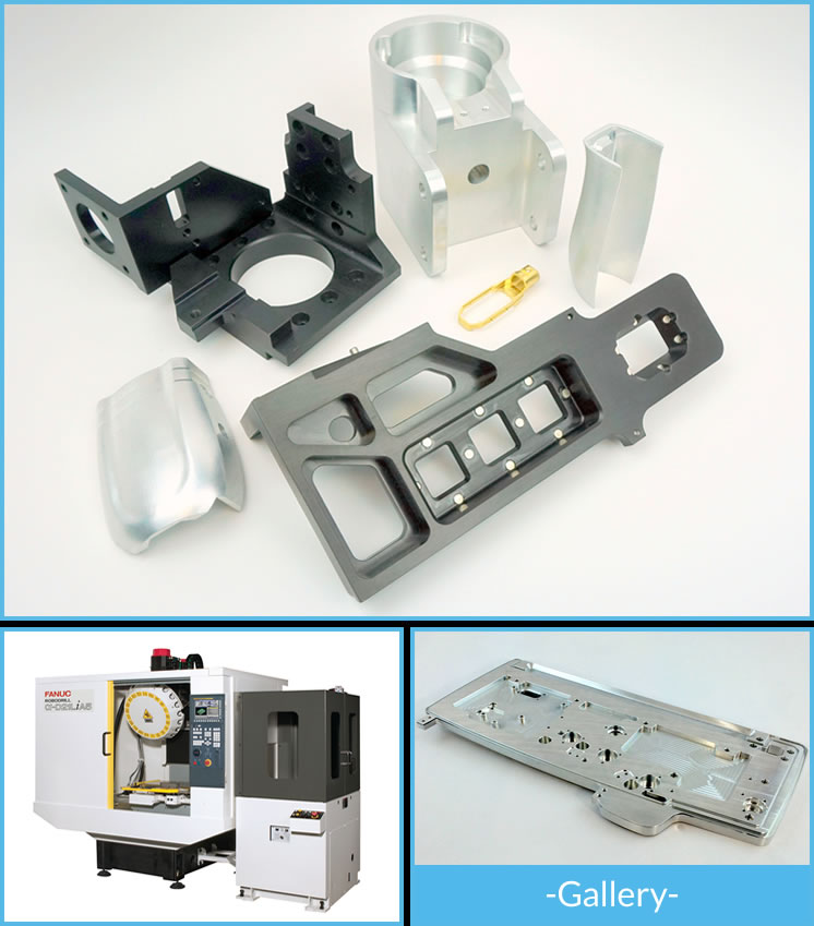 CCG has a group of dedicated CNC machining centers used exclusively for quick-turn CAD-to-prototype services.