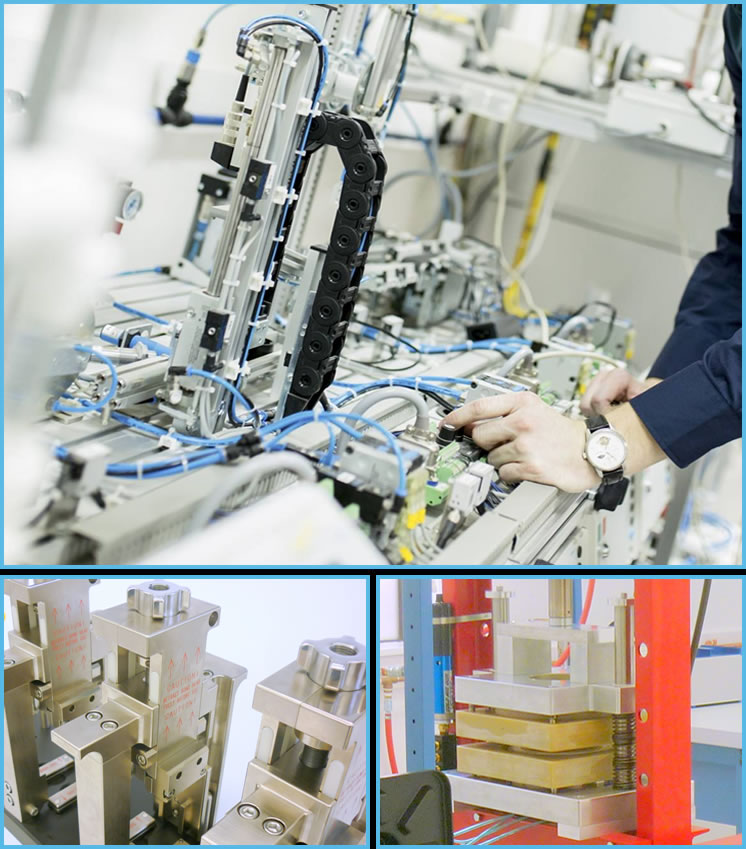 CCG produces manufacturing solutions that are precise, durable and repeatable.