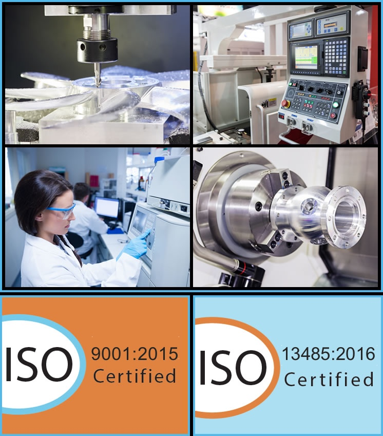 CCG is ISO 9001:2015 and ISO 13485:2016 certified.